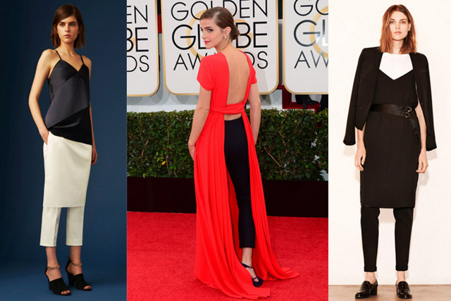 How to Do the Whole Skirt-Over-Pants, Dress Over Pants… The Long Over Long Trend – Outfits And Ideas Channeling Your Inner Model