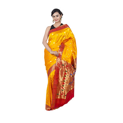 beautiful katan saree