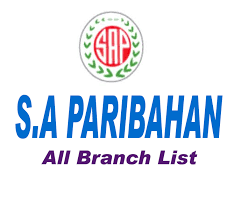 SA Paribohon Branch List